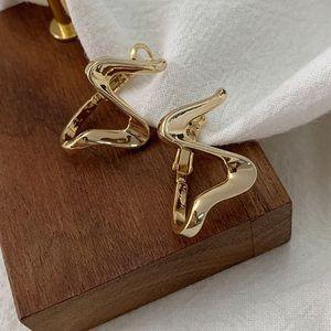 Wave designs earrings